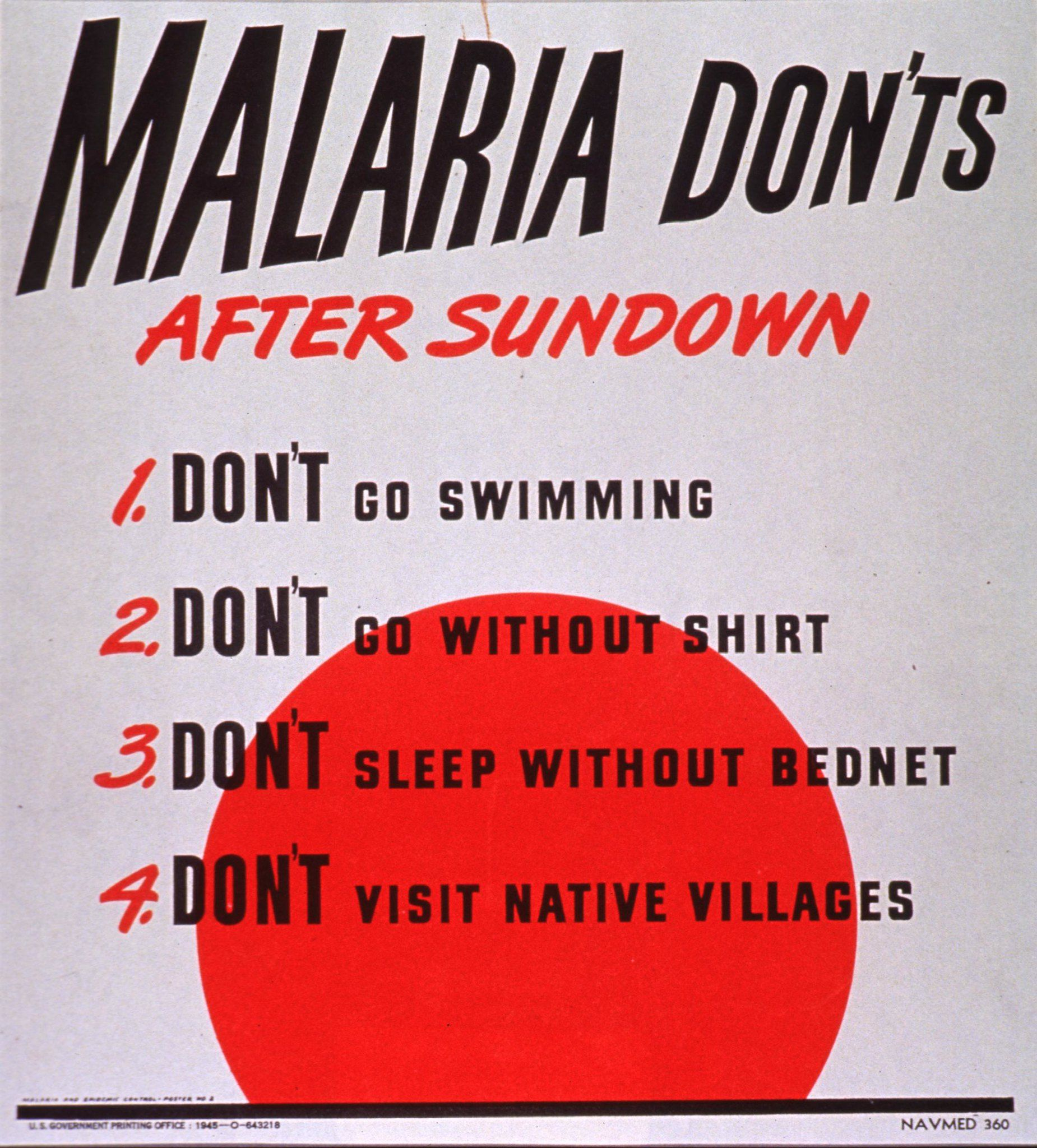 Malaria Donts SimpleMed